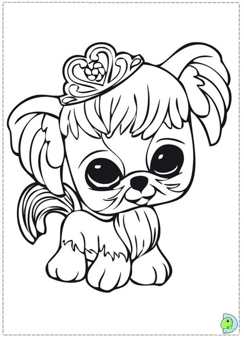littlest pet shop coloring page az coloring pages