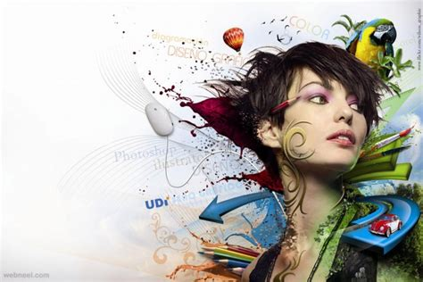 graphics design using photoshop 40 creative photo collage effects and photoshop collage
