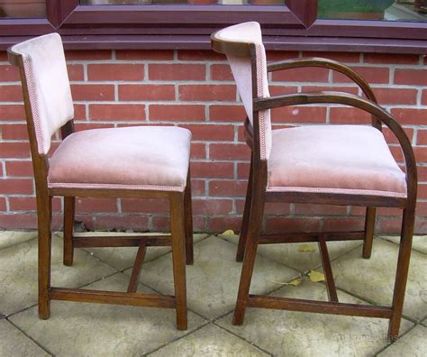 Heals Dining Chairs 6 Heals 1930 S Dining Chairs Antiques Atlas