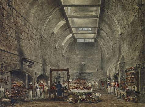 Kitchen Castle by File Castle Kitchen By Stephanoff 1818