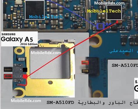 Konektor Charger Samsung E500 E5 Original samsung a510f battery connector ways battery point jumper