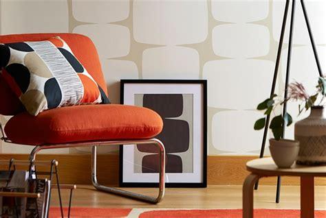 Funky Living Room Wallpaper by Tapeta Lohko Lohko Scion Stylowe Meble Tapicerowane