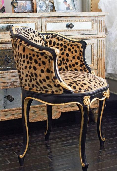 faboo leopard print vanity chair dream rooms pinterest chairs vanities  leopards