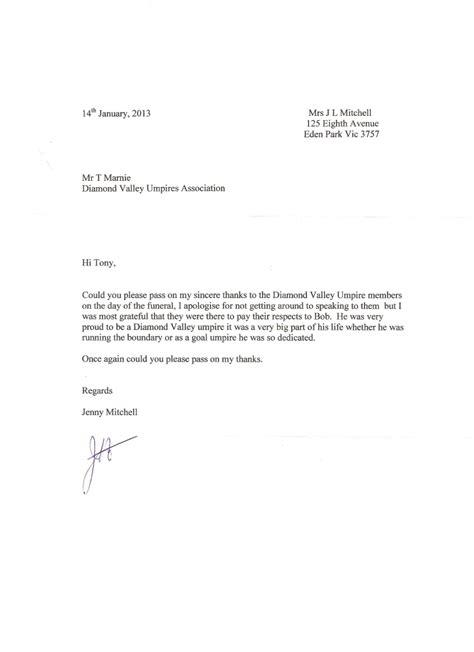 appreciation letter after a burial 28 sle letter of appreciation after burial
