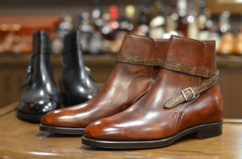 lobb jodhpur boots w croc s fashion