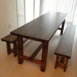 woodworking plans farmhouse table and bench plans pdf plans