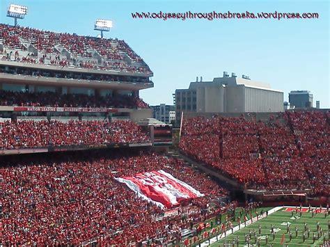 lincoln nebraska memorial stadium memorial stadium lincoln odyssey through nebraska