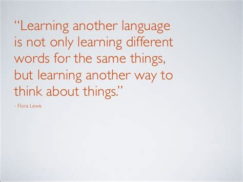 Learning A Second Language benefits to learning a second language