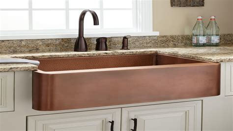 home depot copper sink copper farmhouse sink add a rustic touch the