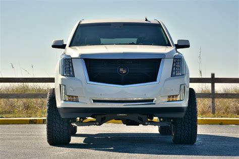 cadillac escalade 2017 lifted world s first lifted 2015 cadillac escalade