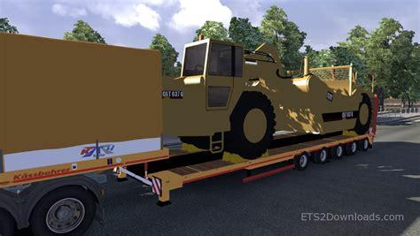 cat trailer cat 637 g trailer truck simulator 2 mods