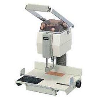 Mesin Bor Kertas jual mesin pelubang kertas uchida vs 10 oleh spiral kawat di jakarta pusat