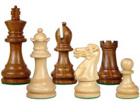 Chess Sets by Wood Chess Set Pieces Monarch Staunton King Size 3 Quot Golden