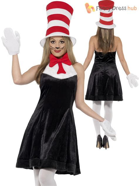 cat in the hat costume fancy dress up