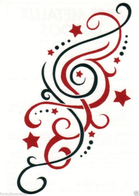 stars and swirls tattoo designs flowers swirls and designs pictures to pin on