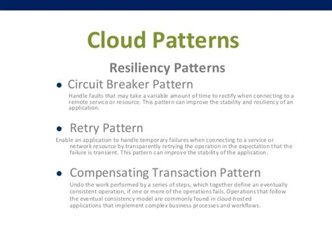 net retry pattern cloud architectural patterns and microsoft azure tools