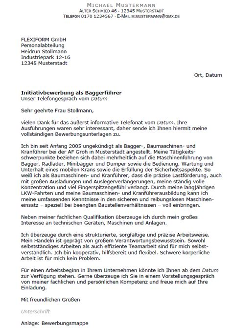 Anschreiben Bewerbung Chefarzt Bewerbung Baggerf 252 Hrer Ungek 252 Ndigt Berufserfahrung Sofort