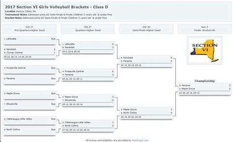 section vi wny volleyball news