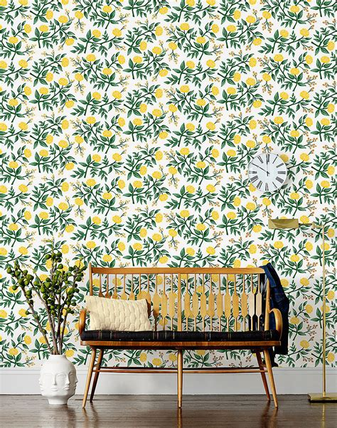 rifle paper company wallpaper rifle paper co wallpaper collection popsugar home