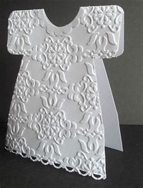christening dress card template baby dress card by deneen treble post includes link to