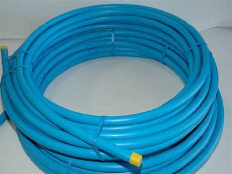 Blue Plumbing Pipe by Mdpe Blue Water Pipe 25mm X 25 Metre Coil Metro Flow Ltd