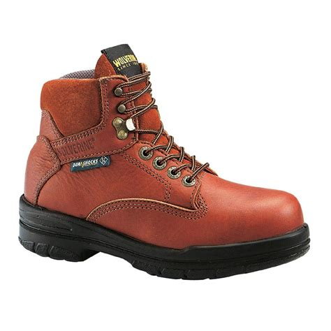 wolverine steel toe boots s wolverine 174 durashocks 174 6 quot sr steel toe eh work