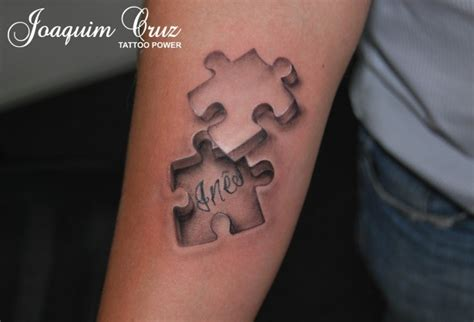 3d puzzle piece tattoo 1000 images about puzzle pieces tattoos on