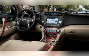 Toyota Highlander Interior Photos 2018 Toyota Highlander Rumors And Release Date
