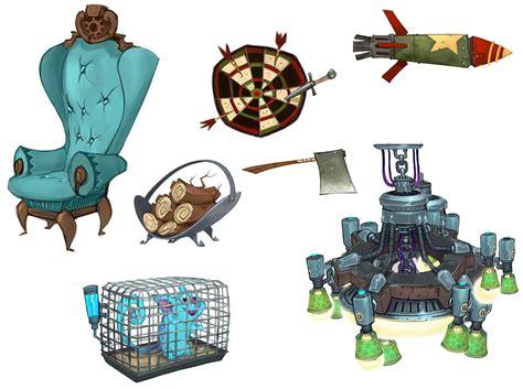 design game art common props characters art wildstar