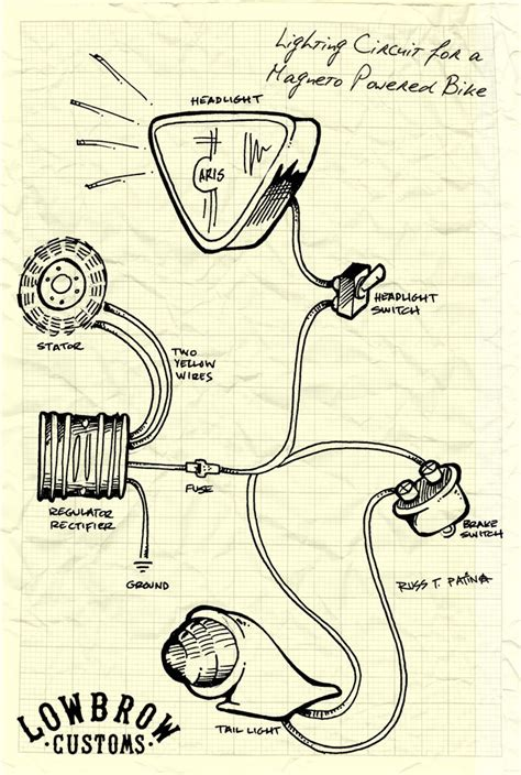 new biltwell triumph wiring diagrams