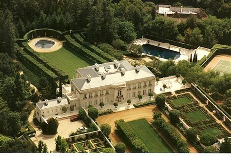 beverly hillbillies mansion aerial view around 2005