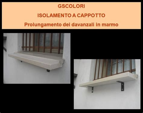 ponte termico davanzale g s colori fasi applicative