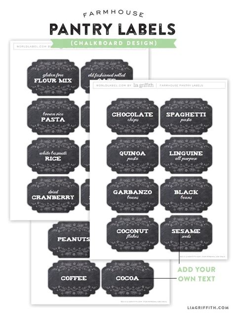 printable kitchen tags 77 best images about kitchen pantry labels on pinterest