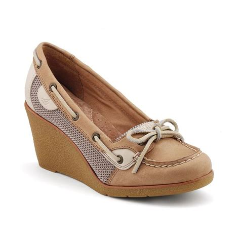 sperry top sider wedge loafer sperry top sider s goldfish wedge shopping list