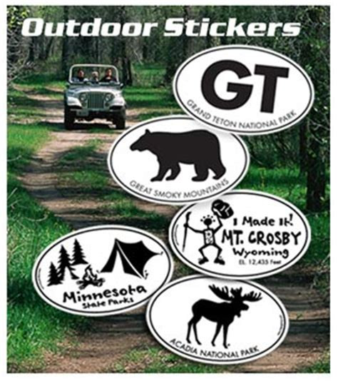 Outdoor Aufkleber by Wholesale Outdoor Stickers Mountain Graphics