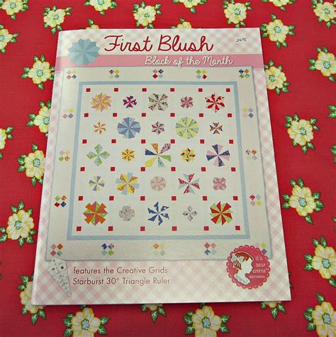 blush block of the month quilt kit