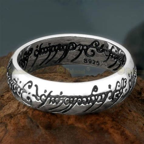 new lord of the ring lotr 925 sterling silver the one ring