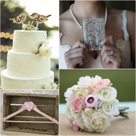 rustic chic wedding cake toppers