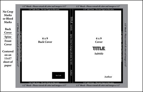 Best Photos Of 6 X 9 Book Template 6x9 Book Cover Template Book Cover Template Microsoft Word Createspace Coloring Book Template