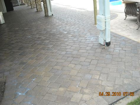 Sealing A Paver Patio Paver Sealing Solutions 187 Paver Patio Bellbrook Oh
