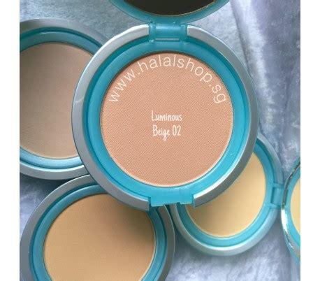 Bedak Wardah Luminous Powder 02 Beige halal cosmetics singapore everyday luminous two way cake 02 beige more brands available