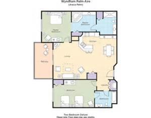 wyndham cypress palms floor plan palms 2 bedroom suite floor plan home plans ideas