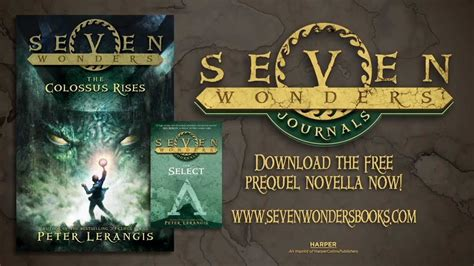 seven deadly wonders series 1 seven wonders book 1 the colossus rises book trailer