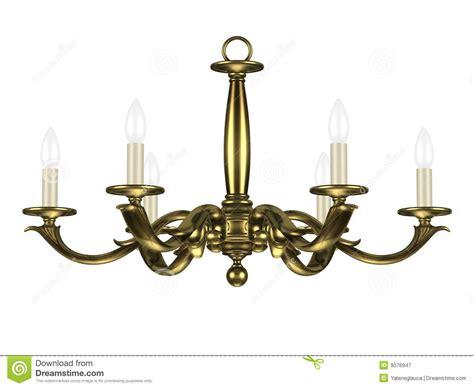 vieux lustre vieux lustre illustration stock illustration du plafond