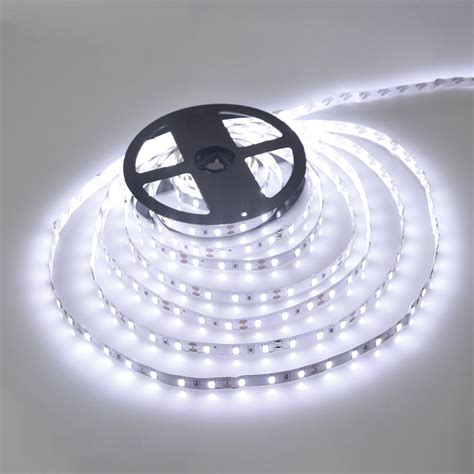White Led Light Strips 5m Roll White Warm White 300 Led Light String Ribbon 5630 Smd L More Bright