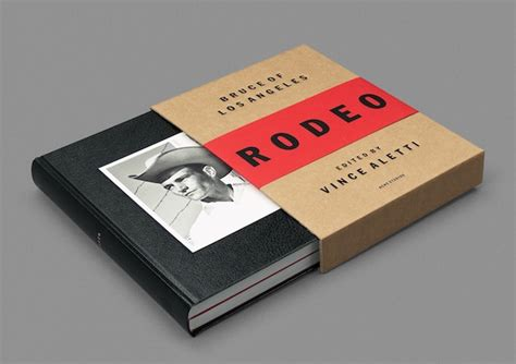 bruce of los angeles rodeo the book design