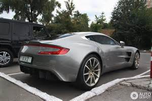 Aston Martin One 77 Aston Martin One 77 17 May 2016 Autogespot