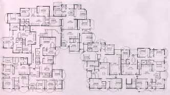 mansion floor plans blueprint square feet mega luxury lrg