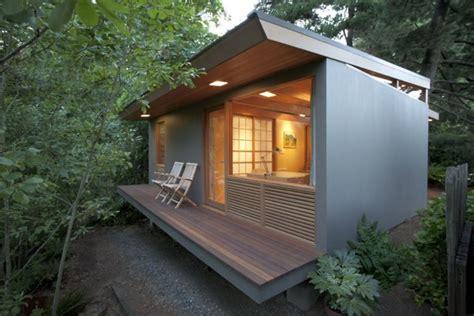 Small Homes Portland 236 Sq Ft Zen Teahouse In Portland