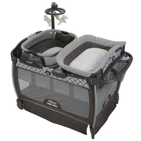 Pack N Play With Changing Table Graco Pack N Play Playard With Nearby Napper Seat Portable Rocker Changing Table